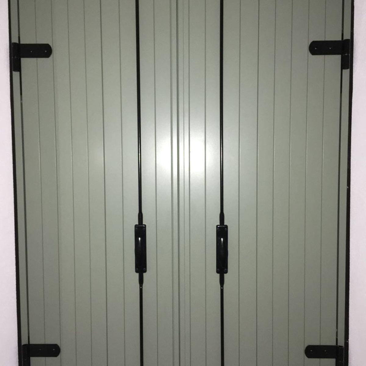 balcone alla vicentina in alluminio
