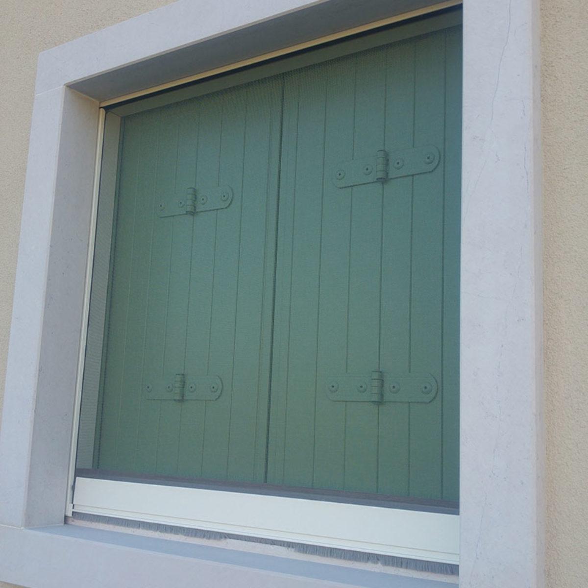 balcone in alluminio